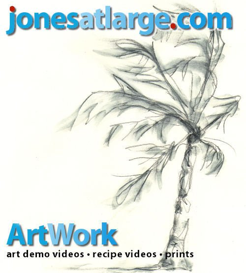 Jones at Large logo