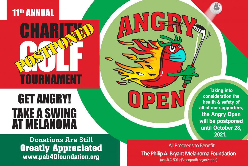 2020 Angry Open Postponed