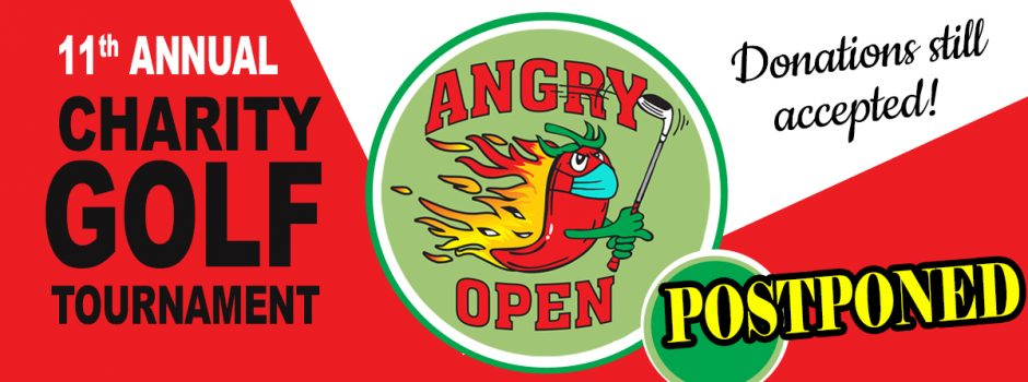 Angry Open postponed`